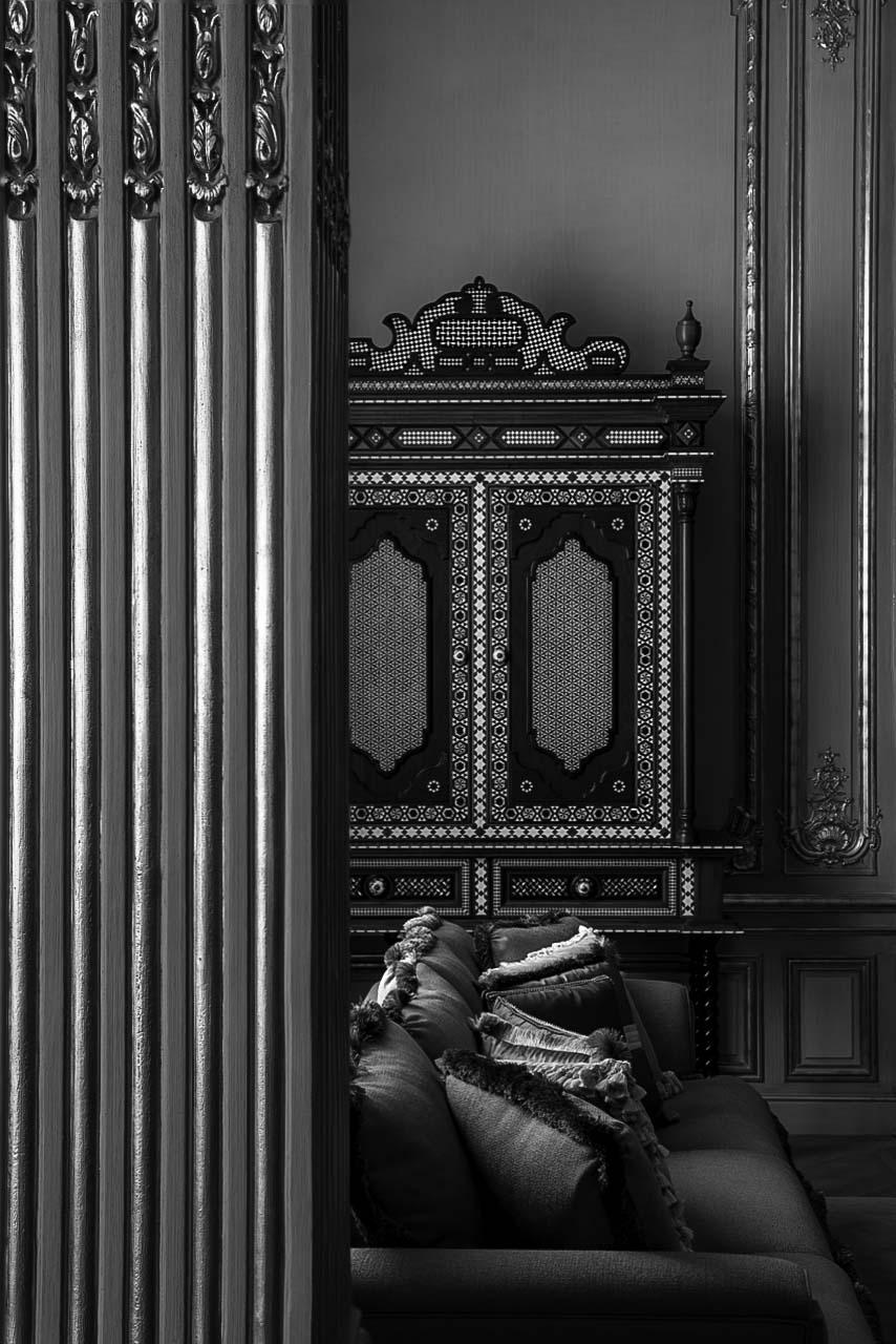 Les moulures d'un salon orienté, gildalliere, Paris,2018